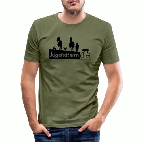 jugendfarm ulm - Männer Slim Fit T-Shirt