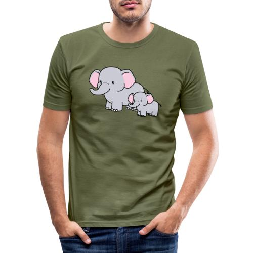 Elephants - Camiseta ajustada hombre