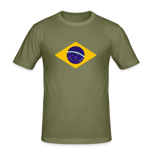 NOT BRAZIL - NORN IRON - Men's Slim Fit T-Shirt