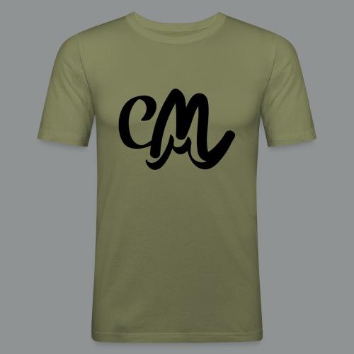 Button CM - Mannen slim fit T-shirt