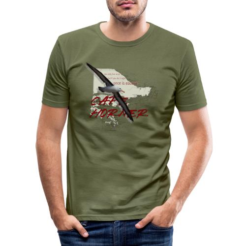 capehorner - Männer Slim Fit T-Shirt