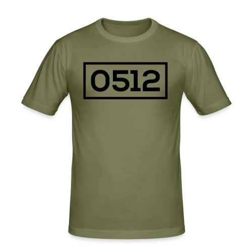 0512 - Mannen slim fit T-shirt