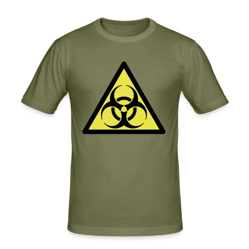Biohazard - Mannen slim fit T-shirt