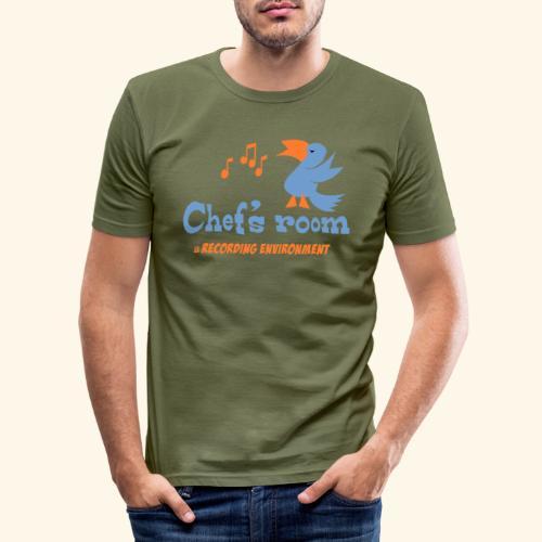 chefs room - Miesten tyköistuva t-paita