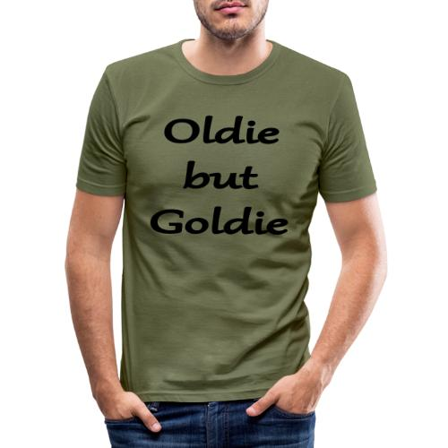 Oldie But Goldie - Männer Slim Fit T-Shirt
