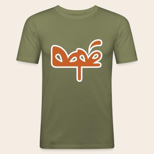 DAPE LOGO - Maglietta aderente da uomo