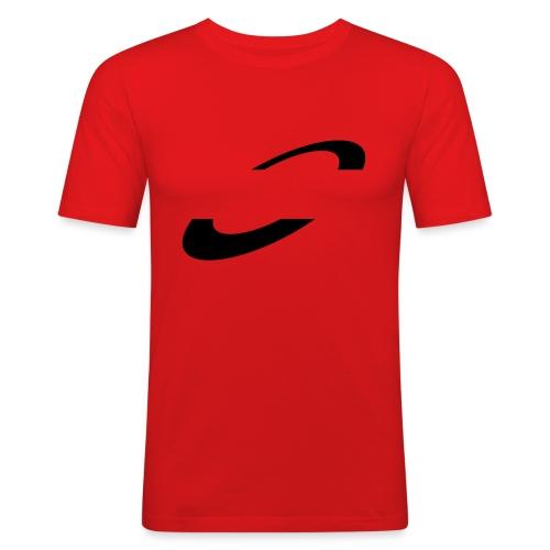 Planet Cycling Icon Black - Men's Slim Fit T-Shirt