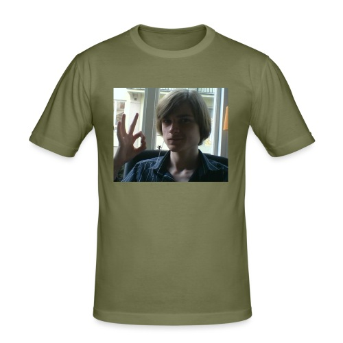 The official RetroPirate1 tshirt - Men's Slim Fit T-Shirt