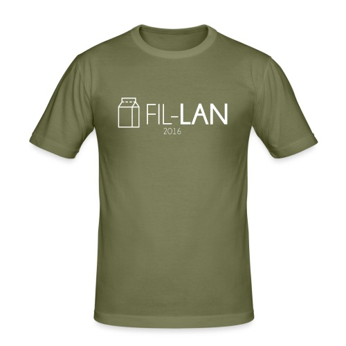 Fil-LAN - Slim Fit T-shirt herr
