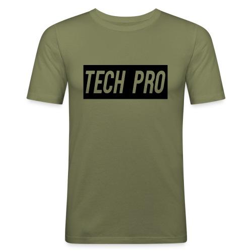 Tech Pro Official Logo - Men's Slim Fit T-Shirt