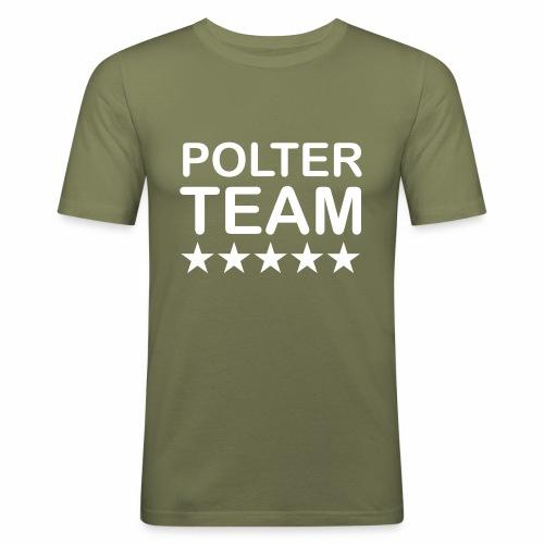 Poltercrew - Männer Slim Fit T-Shirt