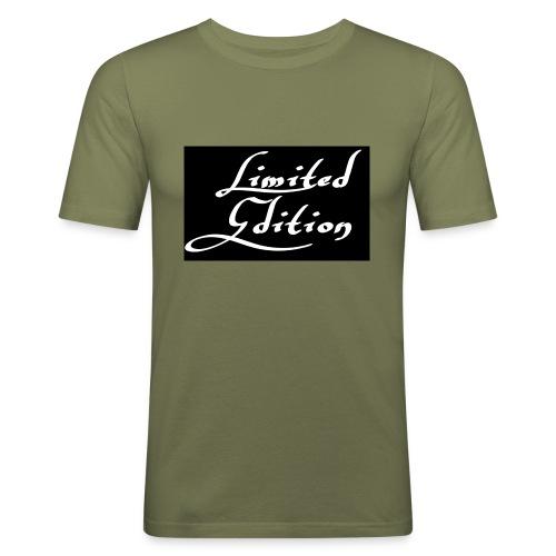 Limited edition - Miesten tyköistuva t-paita