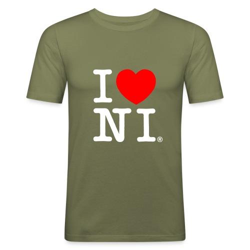 I love NI - Men's Slim Fit T-Shirt