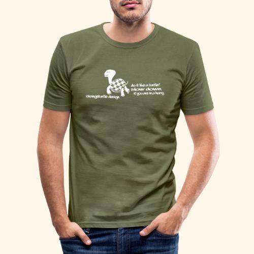 Schildkröte - Männer Slim Fit T-Shirt