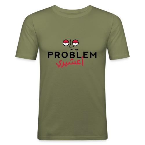 Probelm_a3shiri_-_-1 - Men's Slim Fit T-Shirt