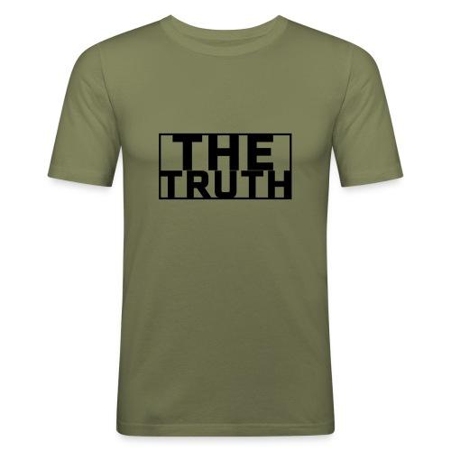 THE TRUTH - Slim Fit T-shirt herr