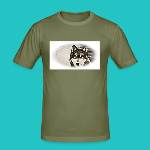 Bluza Wilk - Obcisła koszulka męska
