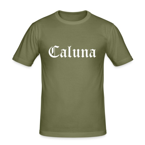Caluna Shirt (White) - Mannen slim fit T-shirt