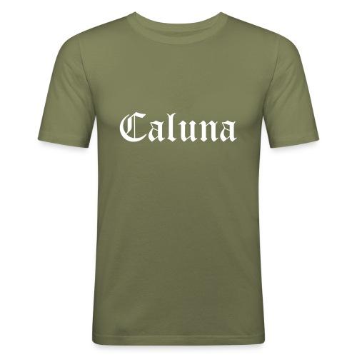 Caluna Shirt (White) - slim fit T-shirt