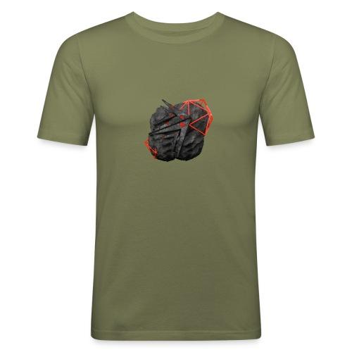 TaMiSFX's Logo with Textures - Men's Slim Fit T-Shirt