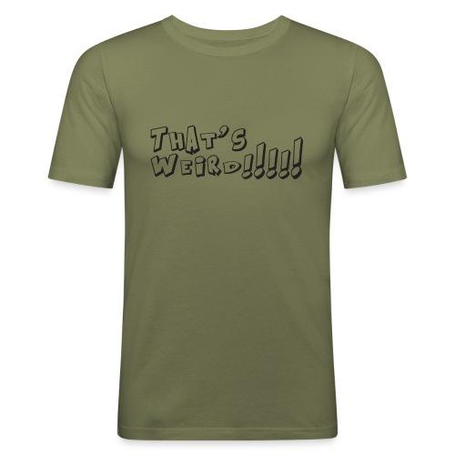 Weird - Maglietta aderente da uomo