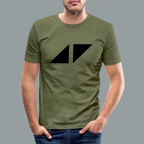 Avicci logo - Camiseta ajustada hombre
