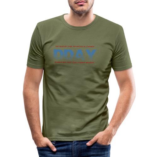 DDAY Normandie - T-shirt près du corps Homme