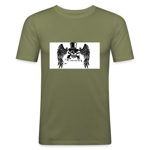 Lucky shot - Miesten tyköistuva t-paita