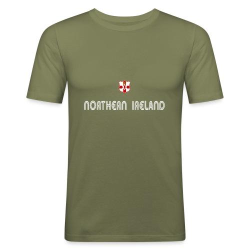 N I shield - Men's Slim Fit T-Shirt