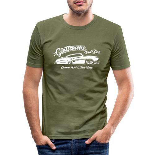 Gentlemans Lead Sled - Männer Slim Fit T-Shirt