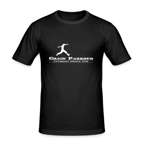 CHAIN PK OFFICIAL - Maglietta aderente da uomo