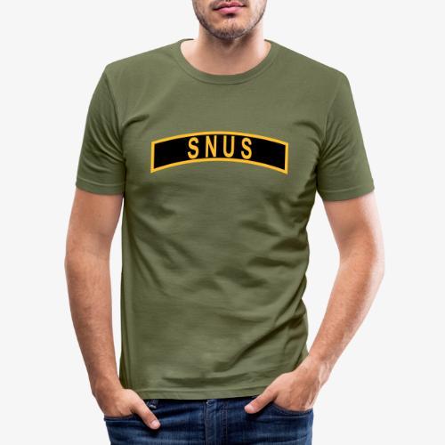SNUS-BÅGE - Slim Fit T-shirt herr
