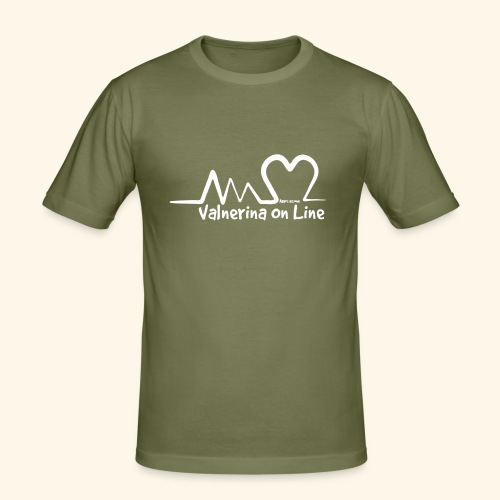 Valnerina On line APS maglie, felpe e accessori - Maglietta aderente da uomo