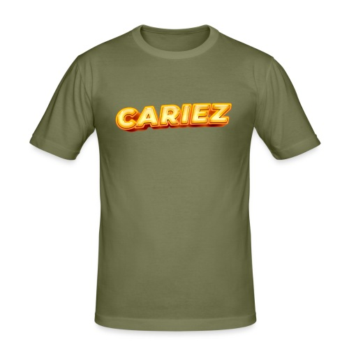 Cariez logo HQ - Slim Fit T-shirt herr