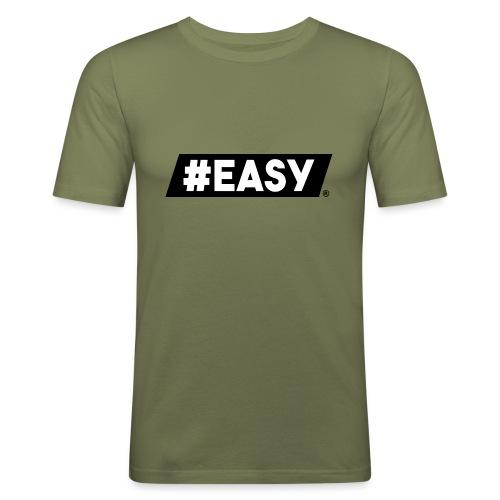 #EASY Classic Logo T-Shirt - Maglietta aderente da uomo