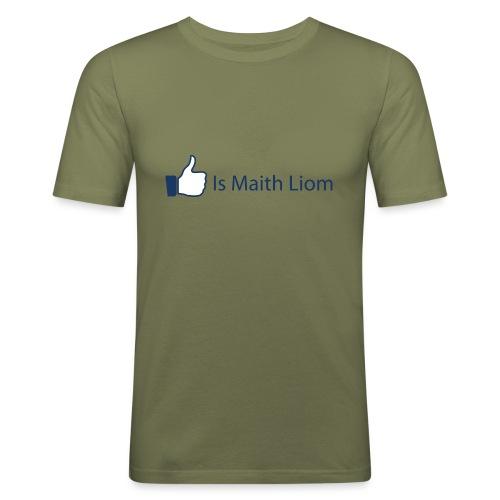 like nobg - Men's Slim Fit T-Shirt