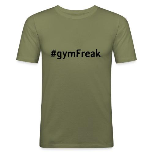 gymFreak Shirt - Männer Slim Fit T-Shirt