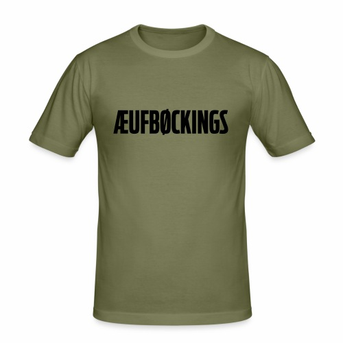 Aufbokkings - Mannen slim fit T-shirt