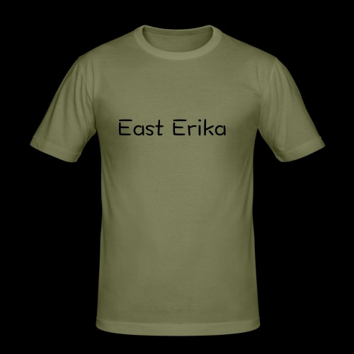 East Erika logo - Maglietta aderente da uomo