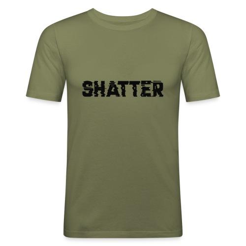 shatter - Männer Slim Fit T-Shirt