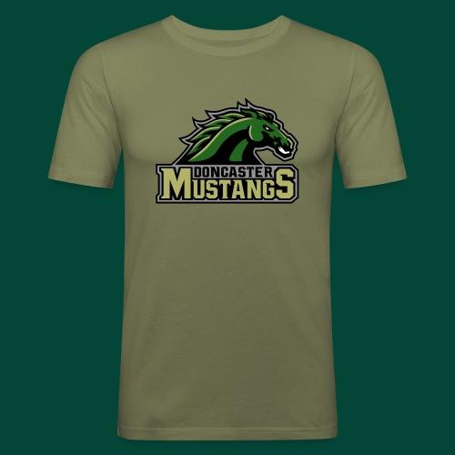 mustangs logo 2019v4 - Men's Slim Fit T-Shirt
