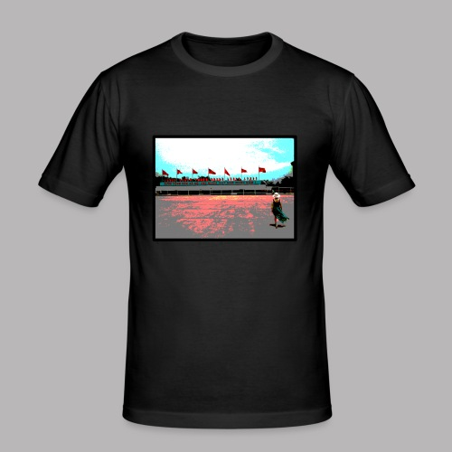 Ho Chi Minh - Men's Slim Fit T-Shirt