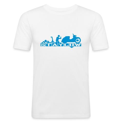 STAYLOW Bier - Männer Slim Fit T-Shirt