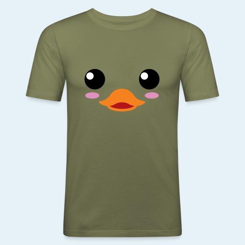 Pato bebé (Cachorros) - Camiseta ajustada hombre