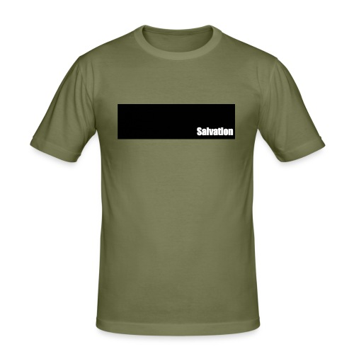 Salvation - Männer Slim Fit T-Shirt