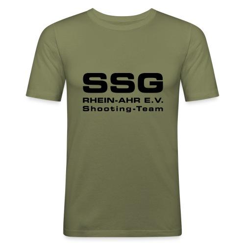 SSG EV LOGO 004 - Männer Slim Fit T-Shirt