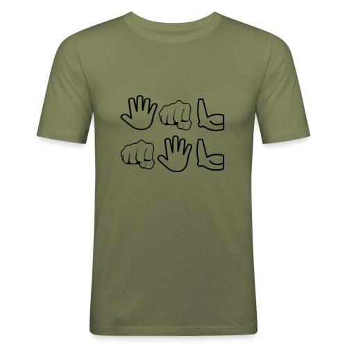 De Leyaro - Mannen slim fit T-shirt
