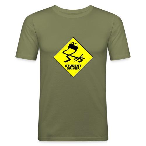 student - Mannen slim fit T-shirt
