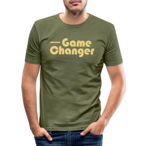 Game Changer - Men's Slim Fit T-Shirt