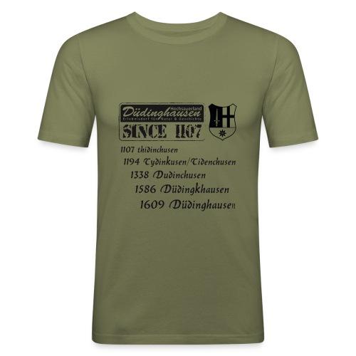 since 1107 text s - Männer Slim Fit T-Shirt